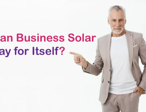 Can Business Solar Pay for Itself?