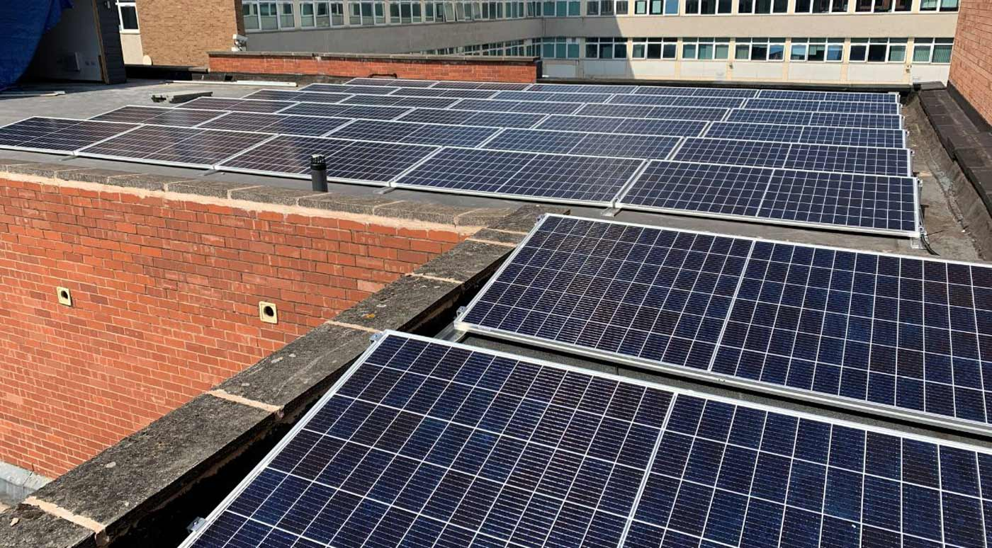 Solar Panel Installation 10-50kW Pitched Roof