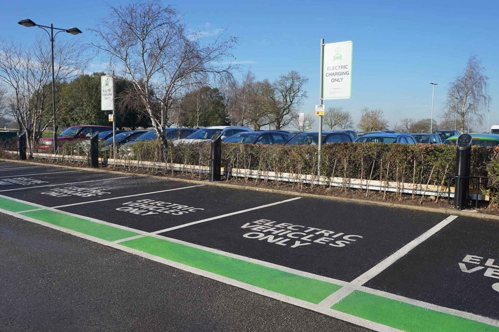 EV chargepoints