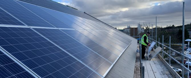 Commercial Solar PV Derbyshire